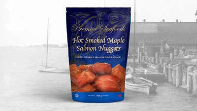 Smoked Salmon Packaging Design
